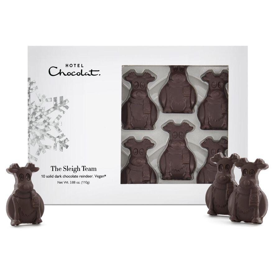 Sleigh Team – Dark Chocolate Reindeer, , hi-res