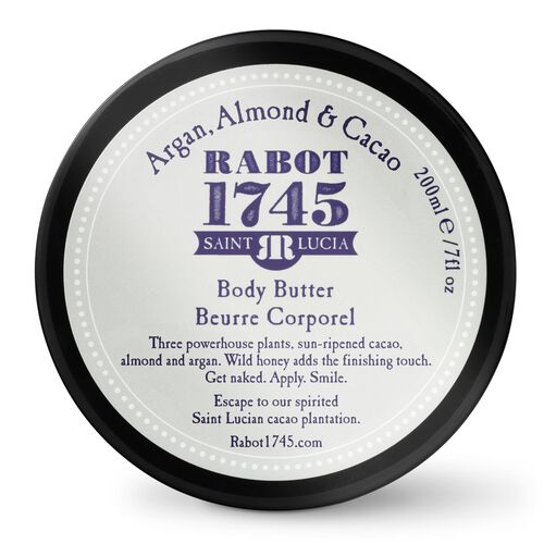 Argan Body Butter with Almond and Cacao