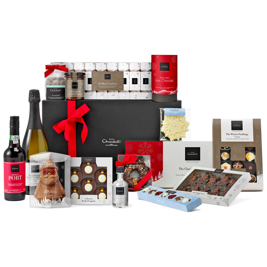 The Festive Chest Christmas Hamper, , hi-res