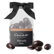 Dark Chocolate Salted Caramelised Almonds, , hi-res