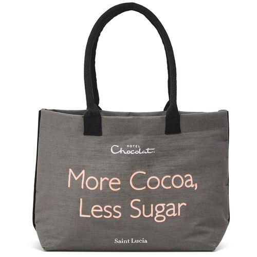 Grey More Cocoa Less Sugar Bag, , hi-res