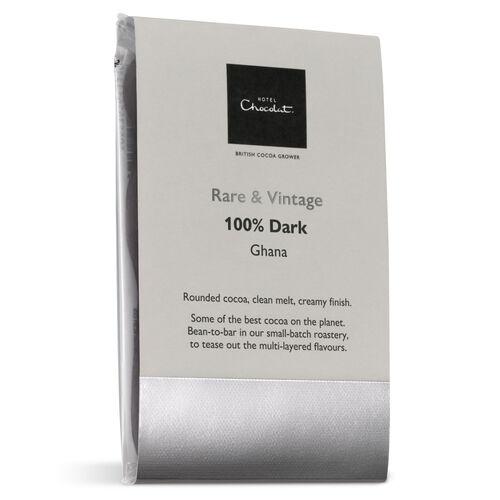 Ghana 100% Dark Chocolate – Rare & Vintage Selector, , hi-res