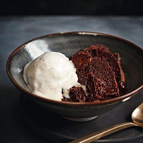 Bread and Chocolate Pudding Recipe, , hi-res