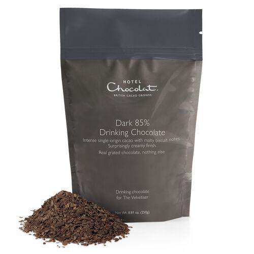 Dark 85% Hot Chocolate, , hi-res