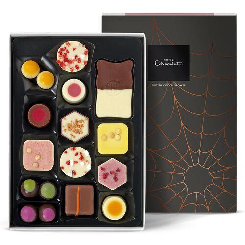 The Halloween Exuberantly Fruity Chocolate H-Box