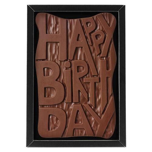 Happy Birthday Chocolate By Hotel Chocolat
