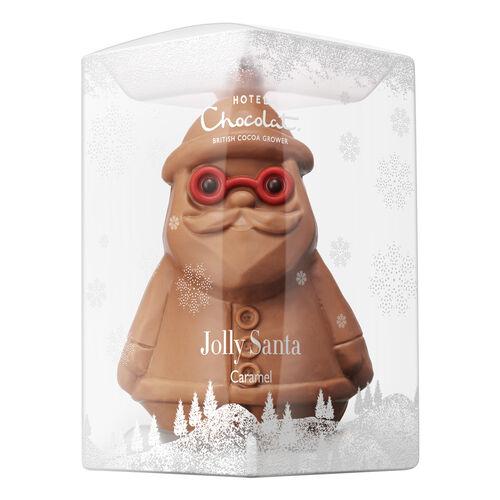 Caramel Milk Chocolate Santa Christmas Chocolate By