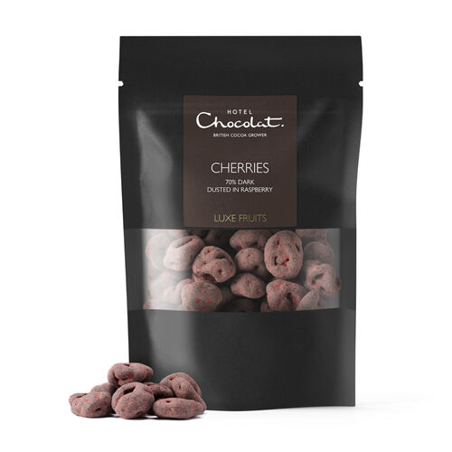 70% Dark Chocolate Covered Cherries, , hi-res