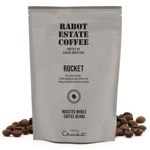 Rocket Whole Roasted Coffee Beans 225g , , hi-res