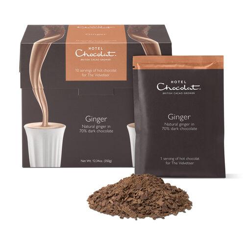 Ginger Hot Chocolate Sachets, , hi-res
