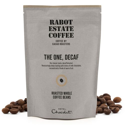 The One Decaf Whole Roasted Coffee Beans 225g, , hi-res