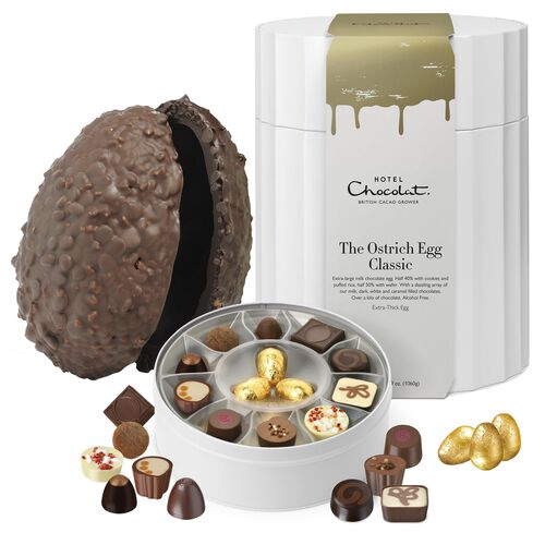 Ostrich Easter Egg - Classic Milk Chocolate, , hi-res