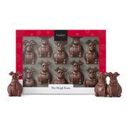 The Sleigh Team – Milk Chocolate Reindeers, , hi-res