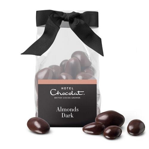 Dark Chocolate Salted Caramelised Almonds, , hi-res
