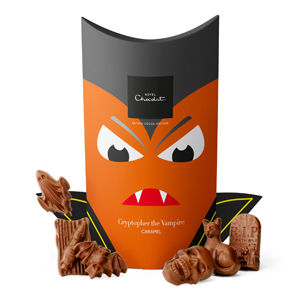 Halloween Caramel Chocolate Box