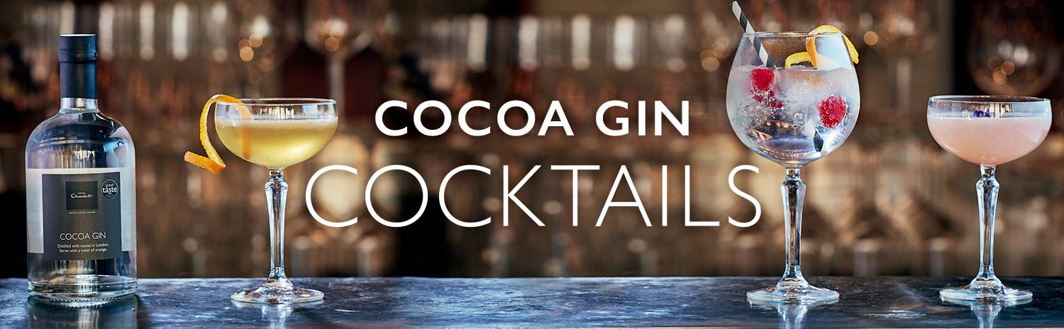 Cocoa Gin Cocktails