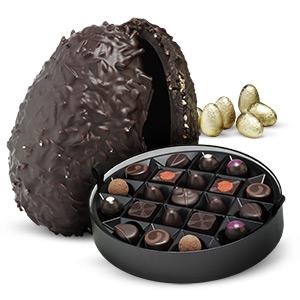 Dark Chocolate Ostrich Egg