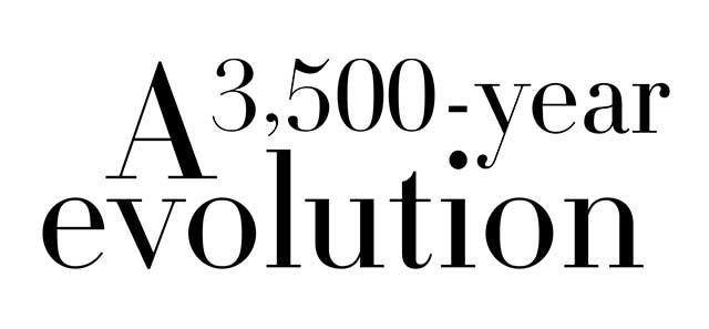 A 3,500 year evolution