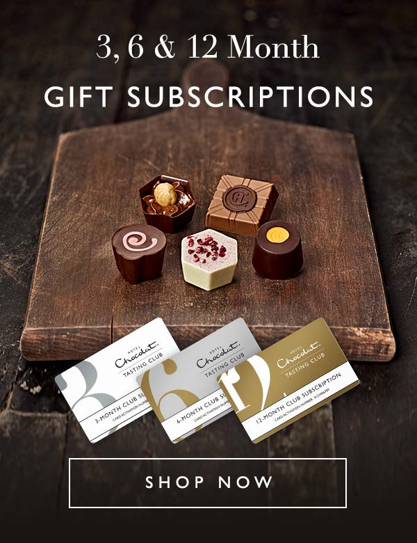 Monthly Chocolate Tasting Club Gift Subscriptions