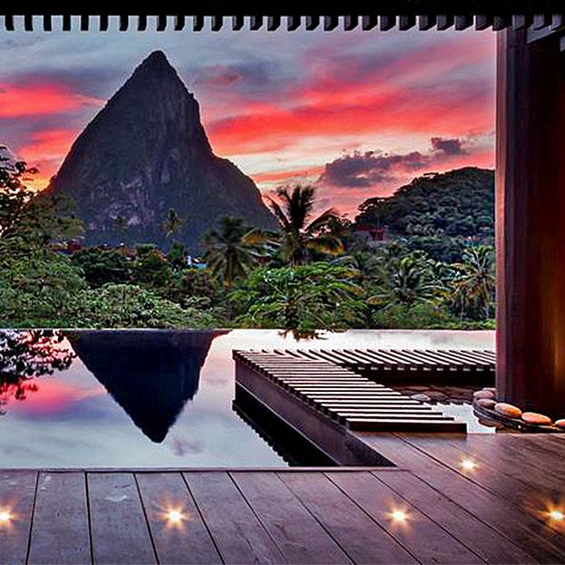 Hotel & Restaurant – Saint Lucia