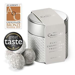 classic champange truffles tin