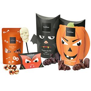 halloween chocolate hamper