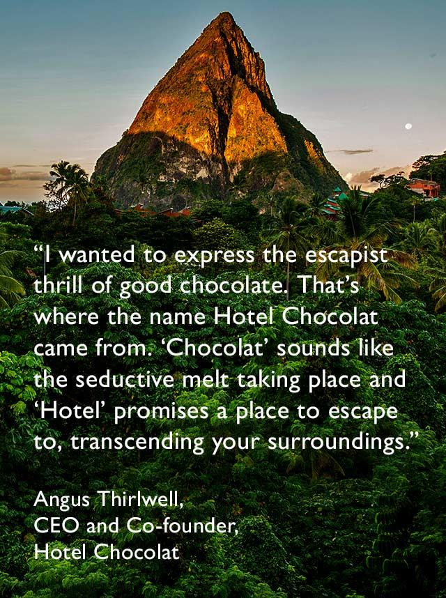 Hotel Chocolat Origins