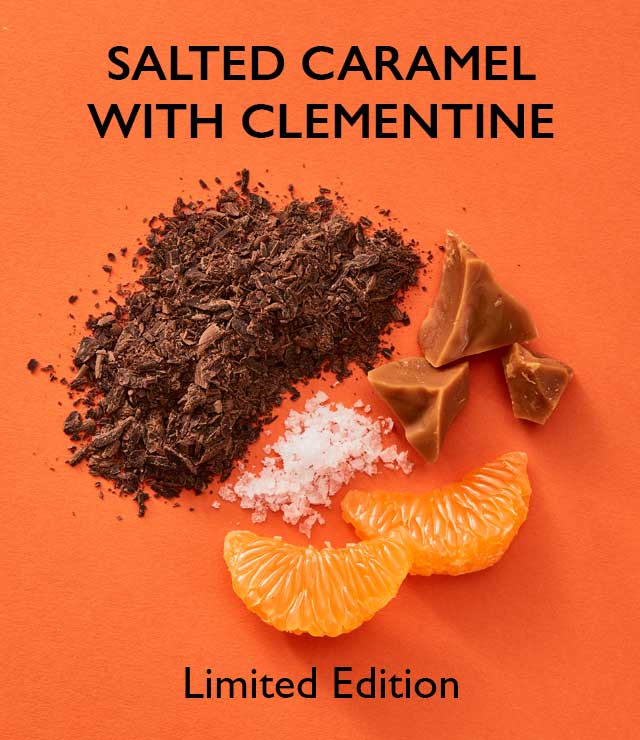 Salted Caramel With Clementine Hot Chocolate