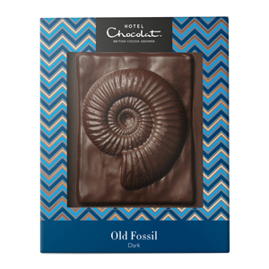 dark fossil chocolate slab
