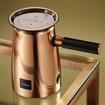 The Velvetiser in-home drinking chocolate system