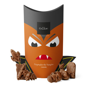 Halloween Caramel Chocolate Box