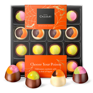 Halloween Cocktail Chocolates