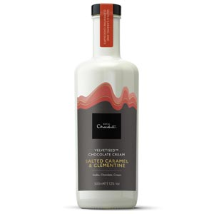 Salted Caramel and Clementine Cream Liqueur